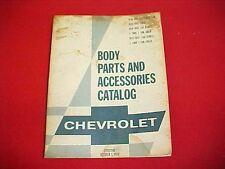 1965 1966 1967 1968 1969 ORIGINAL CHEVROLET CORVETTE CAR NOS PARTS CATALOG BOOK