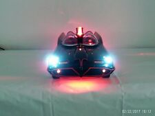 CUSTOM CHERRY RED BATMAN LED BATMOBILE  ELECTRIC-SOUNDS - 18 INCHES WOW -- VIDEO