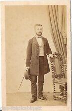 Franz Neumayer CDV photo Feiner Herr - München 1860er