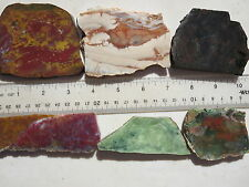 600  NICE 1# ASSORTMENT OF  SLABS FROM AN OLD, CLOSED ROCK SHOP.  GREAT FOR CABS