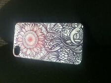 Iphone 4, 4s Sunflower Hard back case.