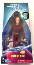 "STAR TREK VOYAGER SEVEN OF NINE ANNIKA HANSEN PLAYMATES 9"" FIGURE JERI RYAN -NIB"