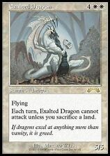 4X Exalted Dragon - LP - Exodus MTG Magic Cards White Rare