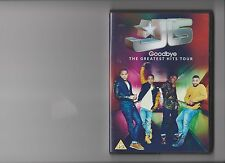JLS GOODBYE THE GREATEST HITS TOUR DVD MUSIC CONCERT