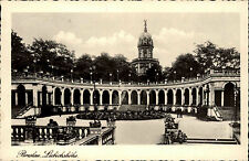Breslau Wrocław 1937 Liebichshöhe Landpost Stempel Kesselsdorf Milicz Militsch