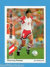 Figurina/CARDS-UPPER DECK 93 -WC USA 94- n.54- F.POVLSEN - DANIMARCA