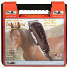 NEW WAHL IRON horse ANIMAL/PET/DOG CLIPPER USA +CASE