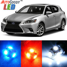 10 x Premium Xenon White LED Lights Interior Package Kit for Lexus CT200h