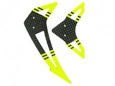 Microheli Carbon Fiber Horizontal/Vertical Fin set (YELLOW) - BLADE 300 CFX