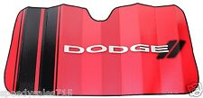 Universal Plasticolor 003705R01 Dodge Red Windshield Sunshade New Free Shipping