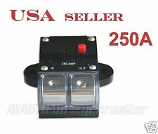250amp APS 2/0 Gauge Car Audio Inline Power Circuit Breaker for 12V System CB8
