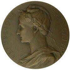 France. Marianne. Ministry of Commerce & Industry Medal, 1911 by A. Borrel / M69