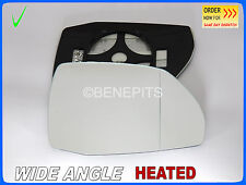 Wing Mirror Glass AUDI Q7 II 2015-2017 Wide Angle HEATED Right Side #A034