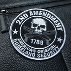 2nd Amendment Homeland Security Tactical USA Army Morale Hook Loop VELCRO PATCH