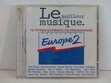 CD ALBUM Compil Le meilleur de la musique Europe 2 pop rock 9548 33019  2