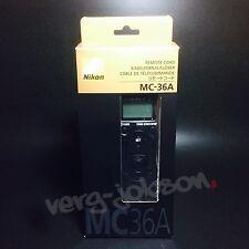 Nikon MC-36A Mutil-Function Remote Cord For D4 D3 D810 D800 Original Brand New