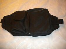 BLACK   / Travel Pouch / Waist Belt.  WITH A POCKET FOR CELLPHONE  SIZE UP TO 34