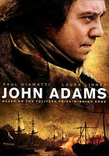 John Adams a 3 DVD box set w/ Paul Giamatti  Laura Linney David Morse