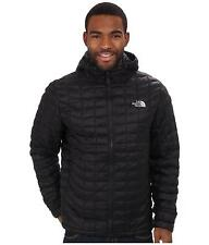 THE NORTH FACE MENS THERMOBALL HOODED JACKET INSULATED HOODIE BLACK SIZE M NEW