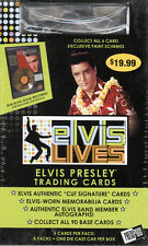 2006 ELVIS PRESLEY LIVES TRADING CARD RARE BOX WITH CAR-POSSIBLE AUTO-MEMORABILI