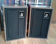 """Zenith Allegro 3000 Speakers Pair 2 Way Vintage 10"""" Subwoofer 3.5 Horn Tweeter"""