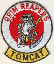 "453 - Distintivo Patch AIR FORCE United States ""TOMCAT GRIM REAPERS"""