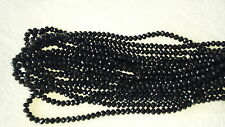 Joblot of 10 strings Black 6mm round shape Crystal beads new wholesale