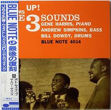 THE THREE SOUNDS / BOTTOMS UP / BLUE NOTE / JAZZ / TOSHIBA JAPAN OBI