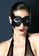Kinky Nightwear Faux Leather Cat Woman Eye Mask Accessory Adult Women KI2001