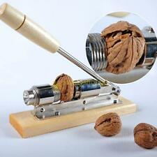 Heavy Duty Easy Manual Pecan Nut Cracker Nickel-Plated Nutcracker Nut Sheller