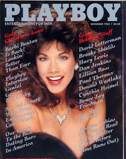 Playboy December 1985 USA Barbi Benton
