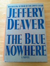 The Blue Nowhere by Jeffery Deaver (2001, Hardcover)
