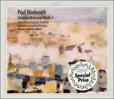 Hindemith: Complete Orchestral Works, Vol. 3 (Box Set), New Music