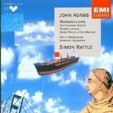 "SIMON RATTLE ""JOHN ADAMS: HARMONIELEHRE"" CD NEU"