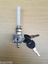 ROYAL ENFIELD LOCKABLE FUEL - PETROL TAP WITH 2 KEYS. BRAND NEW.