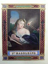 MAGDALENA, lithographie a farben d'epoca.XIX jahrhundert