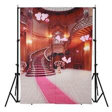 5x7FT Balloon Palace Red Carpet Vinyl Photography Backdrop Background Studio HOT