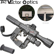 Vector Optics Tactical SVD 4x24 Rifle Scope Military First Focal Plane Side Rail