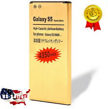 4350mAh High capacity Replacment battery for Samsung Galaxy S5 i9600 G900T G900A