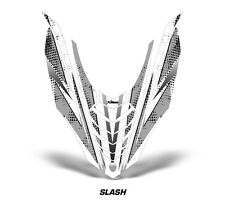 Yamaha Viper SR/SRT Sled Sticker Decal Hood Graphic Kit 2013-2014 SLASH - SILVER