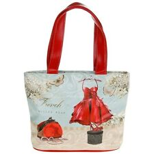equilibrium small womens vintage shabby chic hand bag summer holiday shopping