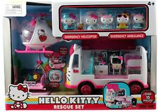 Hello Kitty Doctor Helicopter Hospital Ambulance Rescue Pretend Play Set