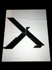 Wade Guyton - X Poster (Untitled 2007)