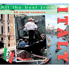 All the Best from Italy: 40 Italian Favorites by Various Artists (CD, Feb-1996,)