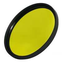 58mm Full Yellow  Color Conversion Lens Filter Screw Mount for DSLR Camera M58