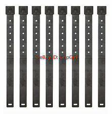 8x Lot Tactical Tailor - Long Black MALICE Clips 8 Pack - MOLLE Kydex OTW NEW