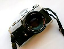 Minolta XD-5 with 50mm f/1.7 Rokkor-X Lens VG Conditions