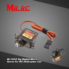 MR.RC M-1502 9g Full Metal Gear Digital Micro Servo for RC 250 450 Heli Car B2W6