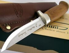 Couteau Marttiini Lynx 161 Birch Handle Stainless Fixed Utility Knife MN161013