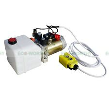 3 Quart 12Volt DC Double-acting High Quality Hydraulic Pump-Dump Trailer